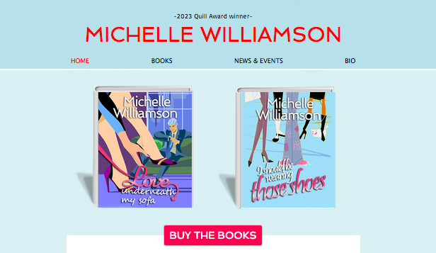 books seller wix template