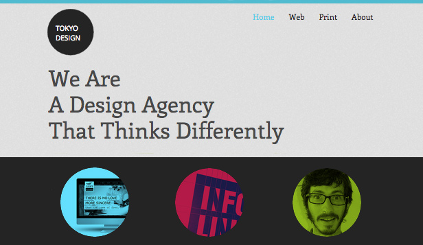 Design Agency Wix Template | Wix Business Template