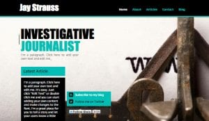 Journalists and creative professionals