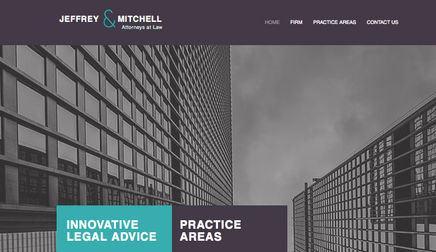 law firm wix template wix business template