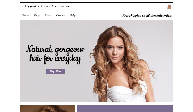 Online stores and stockists of hair extensions