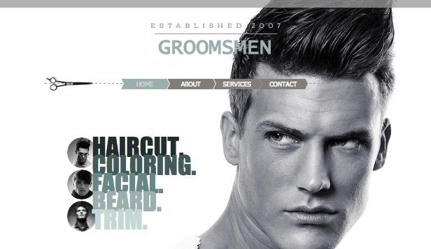 Men's salons